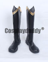 Cinderella 2015 Film Movie Prince Charming Kit Cosplay Long Boots Shoes S008