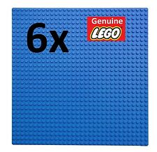 GENUINE LEGO - 6X BLUE BUILDING PLATE 32x32 STUDS BASE BOARD/BASEPLATE/MAT/WATER
