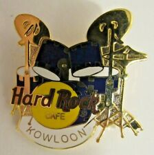 Hard Rock Cafe Pin Kowloon Drum Set With Classic Logo