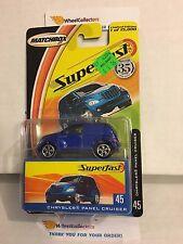 Chrysler Panel Cruiser #45 * Blue * Matchbox Superfast * F14
