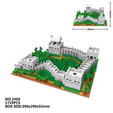 Architecture Great Wall DIY Mini Nano Block Micro Diamond Building Toy In Box