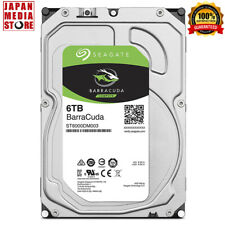 Seagate BarraCuda 6TB Internal Hard Disk HDD 3.5inch SATA 5400rpm ST6000DM003