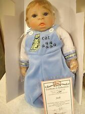 "Treasury Collection-Paradise Galleries, ""Josh"" 18"" Inch Soft Vinyl Doll"