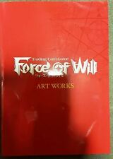 FOW FORCE OF WILL OFFICIAL ART WORKS BOOK (ARTWORK BOOK) LIMITED EDITION