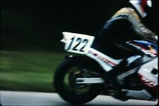 Org Photo Slide 1987 Racing Motorcycle VFR 750 Honda dunlop 122 pass