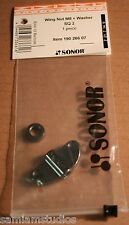 Sonor Wing Nut M8 + Washer Black Chrome SQ2 190 266 07