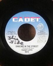 "Ramsey Lewis 7"" 45 jazz funk Dancing in the Street / girl talk Cadet VG"