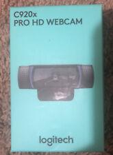 Logitech C920X Pro Stream Webcam Full 1080p HD Camera In Hand SHIPS NOW & FREE!