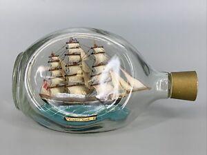 Vintage Cutty Sark Ship in a Bottle Estate Find HAIG Scotland Bottle