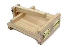 """Traditional Wood Tortilla Press Tortilla Maker 7.5"""""""
