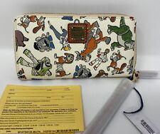 Nwt Dooney & Bourke Disney Parks Toy Story 4 Zip-Around Wallet