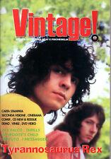 VINTAGE ! N°3 / 2005 RIVISTA DI CULTURA BEAT E PSICHEDELIA TYRANNOSAURUS REX