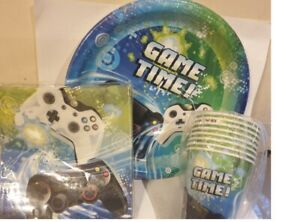 Game Time Party Kit for 8 Guests