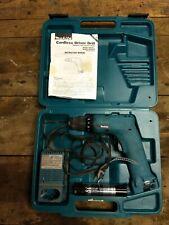 Makita 6019D cordless Drill Driver Keyless 7.2V plastic case charger