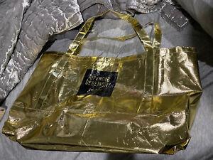 OPENING CEREMONY METALLIC GOLD BAG LARGE