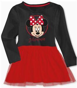 Baby Minnie Mouse Kleid Mädchen 86/92 98/104 110/116 122/128