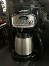 Black Cuisinart Dcc-1150Bk 10-Cup Programmable Thermal Coffee Maker - Black