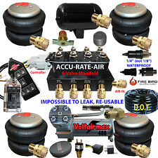 Accu-rate-Air Suspension Kit-COMPLETE Coils Front/Rear See Full Descrip as shown