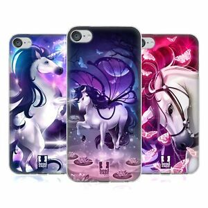 HEAD CASE DESIGNS ENCHANTED UNICORNS SOFT GEL CASE FOR APPLE iPOD TOUCH MP3