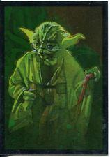Star Wars Galaxy 7 Silver Foil Chase Card #15 Yoda