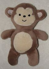 Mini Muffin Small Plush Brown Monkey Soft Stuffed Baby Toy 8""