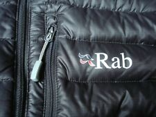 RAB mens microlight vest gilet jacket down size S black