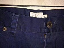 CALVIN KLEIN dark blue casual Pants youth boys tag size 10 actual W24 L25