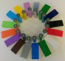 18650 Heat Shrink 140 pc GRAND ASSORTED PVC Cell Wraps US SALES