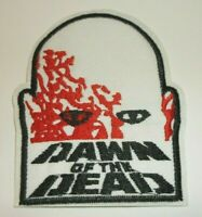 """Dawn of the Dead~Embroidered PATCH~3 5/8"""" x 3""""~Zombie~Iron On~Ships FREE"""