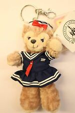 "Hong Kong Disney ShellieMay The Disney Bear Sailor outfit 6"" Plush Toy Key Chain"