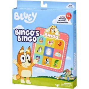 NEW Bluey Bingo's Bingo Game - Genuine Kids Children FREE POSTAGE