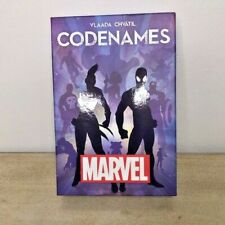 ✰USAopoly Marvel Codenames Card Game- COMPLETE- 2017- 15 Minutes to Play!✰