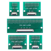 8P 12P 20P 24P 50Pin 0.5mm FFC FPC a DIP 2.54mm Adaptador de placa convertidoryu