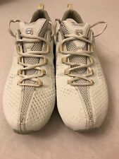 Women's Nike Shox NZ White/Pale Pink Athletic Running Shoes Size 12
