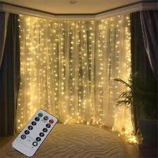 3M 300LED USB Fairy String Lights Curtain Window Display Decor Remote Controller