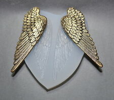 ANGEL WINGS LARGE SILICONE MOULD resin, clay, fimo, sugarcraft cupcake MOLD
