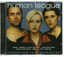 Human League - Soundtrack To A Generation (1996)...14 Track CD...Used VG+....