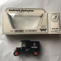 Matchbox models of yesteryear van - LEICESTERSHIRE CONSTABULARY - vintage police