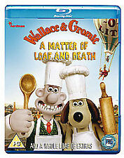Wallace & Gromit A Matter of Loaf and Death  (Very Good)(UK Blu Ray) Free Post