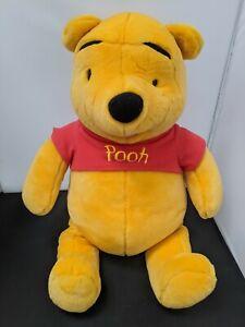 "Large Fisher-Price Winnie the Pooh Talking Plush Toy 25-26"" #SH-sh3"