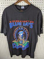 Starter Toronto Blue Jays 1993 Baseball Champions 90s Single Stitch Shirt L VTG