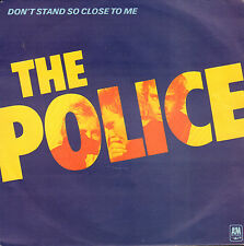 "POLICE  ‎– Don't Stand So Close To Me (1980 VINYL SINGLE 7"" HOLLAND)"