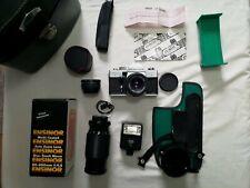 Praktica MTL3 Fim Camera with Case and Lenses