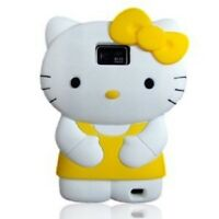 Electek 3D Soft and Silicone Hello Kitty Yellow Case For Samsung Galaxy S2 i9100