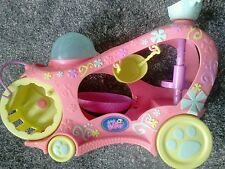 Littlests Mascotas Play House coche con spinningwheel, Hamaca, helterskelter & Swing