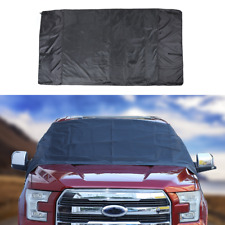 Front Windshield Snow Block Shield Car Cover Waterproof Shade for Ford F150 Blac