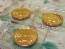 3 UNC 1976 1 cent coins from MINT ROLL