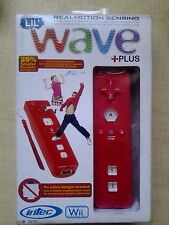 Intec Wave Plus Wii Motion Controller Red