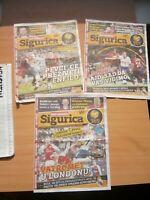 2018 SERBIA NEWSPAPER LOT FOOTBALL Liverpool Tottenham Manchester AUSTRALIAN OPE