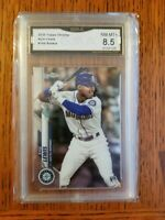 2020 Topps Chrome KYLE LEWIS Rookie RC #186 Mariners GMA 8.5 Invest Now! 🔥